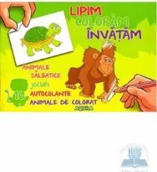 Lipim coloram invatam - Animale salbatice