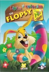 Lipim si coloram cu Flopsy