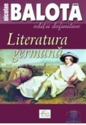 Literatura germana - Nicolae Balota