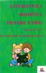 Literatura romana pentru copii Clasele 1-4 - Macovei Florentina