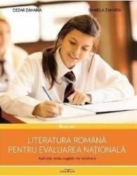 Literatura romana pentru evaluarea nationala - Daniela Zaharia Cezar Zaharia