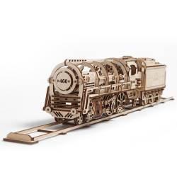Locomotiva Puzzle 3D UGEARS Puzzle adulti