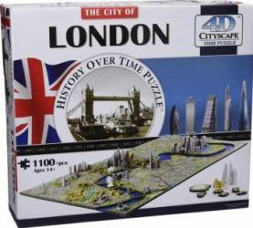 LONDON Puzzle 4D Cityscape Jucarii Interactive