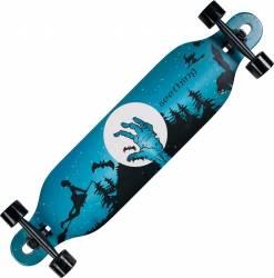 Longboard Action Land Surfer® II ABEC-9, PU, Aluminiu, 100kg  Halloween Penny Board