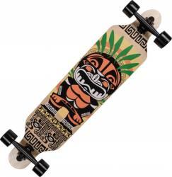 Longboard Action Land Surfer® II ABEC-9, PU, Aluminiu, 100kg  Tiki Mask Penny Board