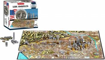 LOS ANGELES Puzzle 4D Cityscape Jucarii Interactive