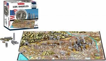LOS ANGELES Puzzle 4D Cityscape Jucarii Interactive