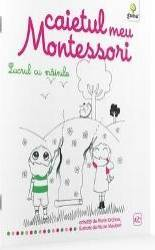 Lucrul cu mainile Caietul meu Montessori - Marie Kirchner 3 ani+