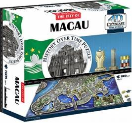 MACAU Puzzle 4D Cityscape Jucarii Interactive