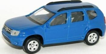 Macheta auto Dacia Duster albastru cu licenta Machete