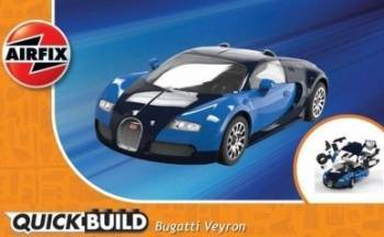 Macheta masina de construit Bugatti Veyron Jucarii Interactive