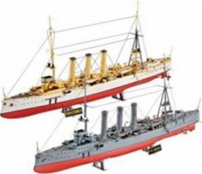 Macheta Revell Combi Set German WWII Cruisers SMS Dresden and SMS Emden Machete