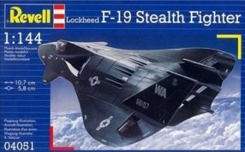 Macheta Revell F-19 Stealth Fighter