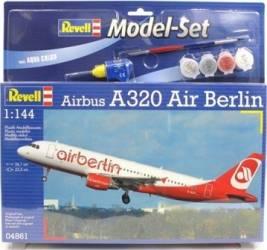 Macheta Revell Model Set Airbus A320 AirBerlin Machete