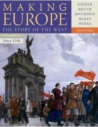 Making Europe Story Of West Vii 1550 2nd