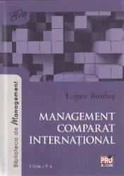Management comparat international - Eugen Burdus Carti