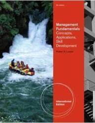 Management Fundamentals 5th