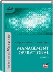 Management operational - George Moldoveanu Cosmin Dobrin