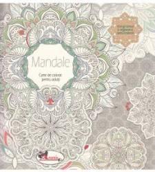Mandale - Carte de colorat pentru adulti