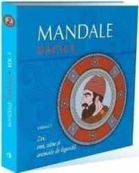 Mandale dacice vol.1 Zei eroi zane si animale de legenda Carti