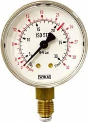 Manometru joasa presiune CO2/Ar Oxyturbo, G1/4'', D63, Scala:0-32l/min Accesorii Sudura