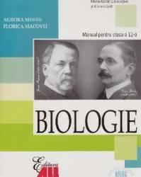 Manual biologie Clasa 11 2006 - Aurora Mihail Florica Macovei Carti