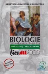 Manual biologie Clasa 9 - Ioana Arinis Aurora Mihail