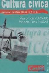 Manual cultura civica clasa 8 - Maria-Liana Lacatus Mihaela Penu Puscas