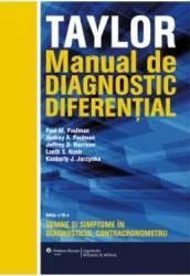 Manual de diagnostic diferential. Taylor - Paul M. Paulman