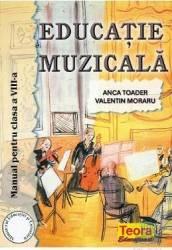 Manual educatie muzicala clasa 8 - Anca Toader Valentin Moraru