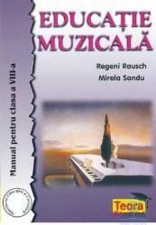 Manual educatie muzicala clasa 8 - Regeni Rausch Mirela Sandu