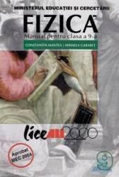 Manual fizica Clasa 9 - Constantin Mantea Mihaela Garabet