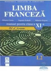 Manual franceza clasa 11 L2 - Mihaela Cosma Eugenia Stratula