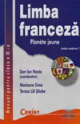 Manual franceza clasa 9 L1 - Planete Jeune - Dan Ion Nasta Marioara Sima Tereza Lili Stiube