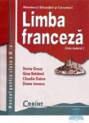 Manual franceza Clasa 9 L2 - Doina Groza Gina Belabed Claudia Dobre Diana Ionescu