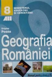 Manual geografie clasa 8 - Grigore Posea
