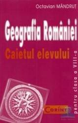 Manual geografie clasa 8 caiet - Octavian Mandrut