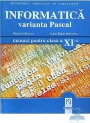 Manual informatica clasa 11 Pascal - Daniela Oprescu Liana Bejan Ienulescu