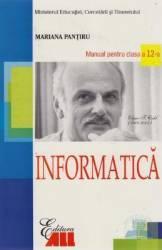 Manual informatica clasa 12 - Mariana Pantiru