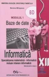 Manual informatica clasa 12 M1 - Mariana Milosescu