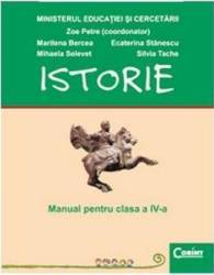 Manual istorie Clasa 4 2008 - Zoe Petre Marilena Bercea Ecaterina Stanescu Silvia Tache