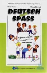 Manual limba Germana clasa 8 L1 2011 - Deutsch Mit Spass - Silvia Florea Mioara Savinuta
