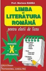 Manual limba si literatura romana clasa a 10-a - Mariana Badea