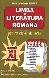 Manual limba si literatura romana clasa a 11-a - Mariana Badea