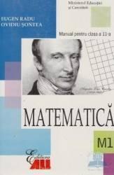 Manual manual matematica clasa 11 M1 2006 - Eugen Radu Ovidiu Sontea Carti