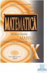 Manual matematica clasa 10 TC+CD - Marius Burtea Georgeta Burtea