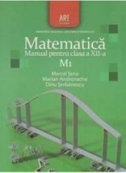 Manual matematica clasa 12 M1 - Marcel Tena Marian Andronache
