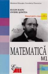Manual matematica clasa 12 M1 2007 - Eugen Radu Ovidiu Sontea