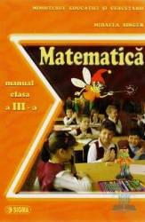 Manual matematica clasa 3 - Mihaela Singer Carti