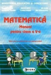 Manual matematica Clasa 5 - Mihaela Singer Mircea Radu Ion Ghica Ghe Drugan Carti